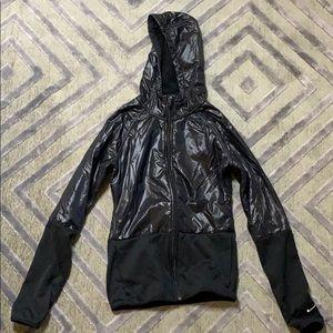 Nike jacket with hood. Sz XS